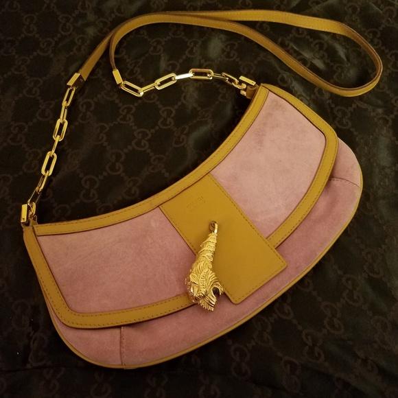 f0fbab0e750b39 Gucci Handbags - Gucci Tom Ford Era Tiger's Head Bag